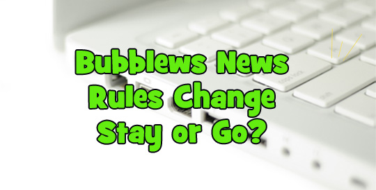 Bubblews has SHUT Down